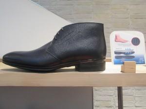450シボ革ブーツ・サイド